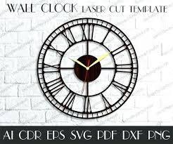 Large Clock Faces Vintage Printable Outdoor Huge Industrial