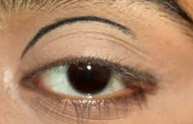 dramatic cut crease arabic eye makeup tutorial with detailed steps and pictures