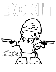 Small Picture Lego Mixels Coloring Pages Eson Me Throughout akmame