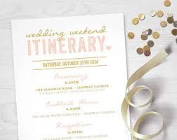 wedding day itinery wedding day timeline blush formal welcome bag destination