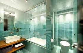 Modern Bathroom Colors Aqua Blue Bathroom Wall Tiles White Accents Modern Bathroom Colors
