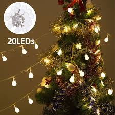 Outdoor Holiday Globe Lights Safstar Led String Ball Decor Fairy Lamp Globe Indoor Outdoor Party Lights For Home Garden Patio Party Holiday Christmas Tree Decor 20 Balls