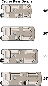 ls cruise pontoon boat avalon pontoon boats floorplan layout for ls crb