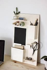desk organization diy diy wooden desk