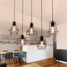 9 of 10 new diy led metal ceiling light vintage chandelier pendant edison lamp fixture