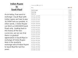 Saudi Riyal To Inr Chart Exchange Rate Saudi Riyal To Indian Rupees Al Rajhi Cracker