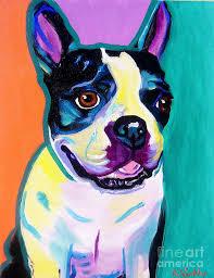 boston painting boston terrier jack boston by alicia vannoy call