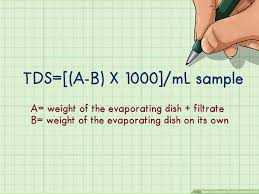How To Calculate Total Dissolved Solids 10 Steps With