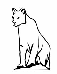 Snow Leopard Coloring Page Animals Town Animals Color Sheet