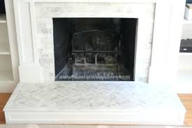 tile fireplace makeover marble tiled fireplace surround and hearth diy tile fireplace makeover