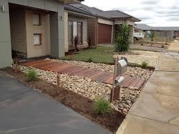 Small Picture Modren Australian Front Yard Garden Ideas Native No Grass Make