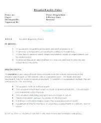 Fire Incident Report Template Vehicle Investigation Samples