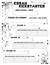 how to write an essay in high school what is a thesis statement in  essays for high school students compare contrast essay papers teacherlingocom essay outline writing kickstarter lesson