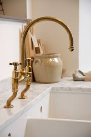 Chic Brass Kitchen Faucet Found The Perfectly Aged Brass Kitchen