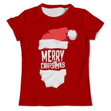 <b>Футболка</b> с полной запечаткой (мужская) <b>Merry</b> Christmas ...