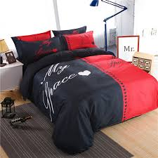 33 intricate modern quilt cover sets red and black my space bedding set duvet bed sheet pillow case king queen