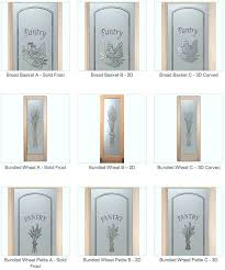 pantry doors with glass sans samples frosted door etched etched glass pantry door