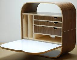8 Wall-Mounted Desks That Save Room in Small Spaces View in gallery Camille  Desk by Vurv Design
