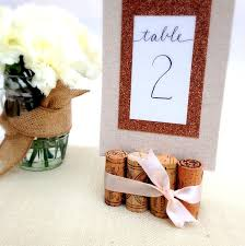best 25 wedding table number holders ideas on pinterest table Wedding Essentials Indiana rustic wedding table number holder, featuring 8 vintage corks wedding essentials magazine indiana