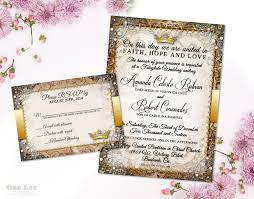 fairy tale invite fairytale wedding invitation suite r tic wedding invitation fairy tale wedding invite in ornate gold royal wedding printable invites diy