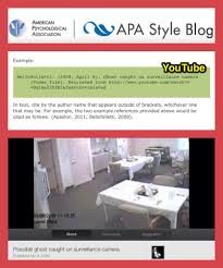 Learn How To Cite Youtube Videos Using The Apa Style Blog Research