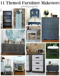 furniture makeovers. A Recap Of 11 Themed Furniture Makeovers From 2015 And Makeover Day. U