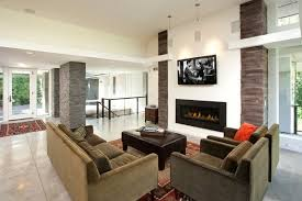 Small Picture modern fireplace tv above Fireplace design Modern fireplaces