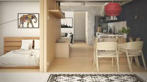 Wood Interior Design 5 Small Studio Apartments With Beautiful Design