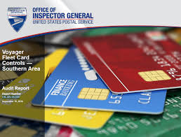 voyager fleet card controls southern area usps office of inspector general