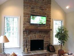 pictures of tv over fireplace over fireplace ideas home theater television and home theater installation pictures