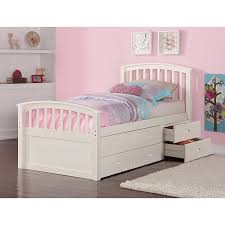 kids twin beds with storage. Simple Storage Amazoncom DONCO Kids 425CP Series Bed Twin Dark Cappuccino Kitchen U0026  Dining Inside Twin Beds With Storage S