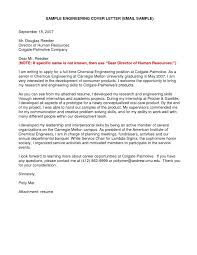 Cover Letters How To Write Cover Letters For Internships
