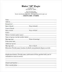 Newspaper Obituary Template Free Sample Obituary Templates Basic Template Newspaper Examples