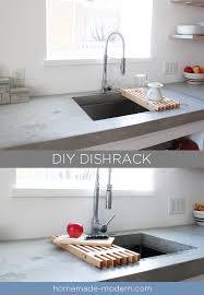 this diy dish rack is designed to fit over a sink full instructions can be