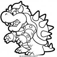 Disegni Da Colorare Di Super Mario Bros Super Mario Da Colorare