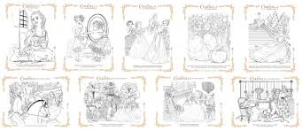 Small Picture Free Printable Cinderella Activity Sheets and Coloring Pages