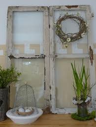 Shabby Fenster Als Dekoration Decoración Alte Fenster Alte