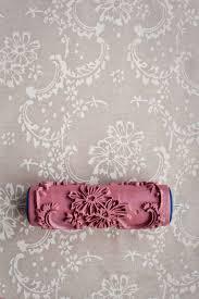 Patterned Paint Roller Designs Amazing Decorating Design