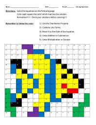 kindergarten solving equations distributive property worksheet