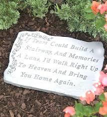 memorial garden stones for dad memorial garden stones ideas for dad best creating a gift father
