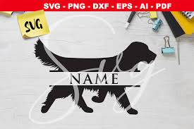 Some content is for members only, please sign up to see all content. Golden Retriever Dog Monogram Svg Graphic By Novart Creative Fabrica