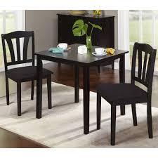 3 piece dining table set awesome metropolitan multiple finishes walmart regarding 5