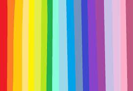 Blue Yellow Violet Green Orange Purple Line Pattern Magenta