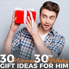 Don't fret over 30th birthday present ideas, prezzybox have you covered. 30 Awesome 30th Birthday Gift Ideas For Him