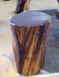 Black Walnut Stump Table