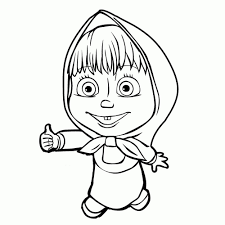 Coloring Masha And The Bear Coloring Pages Getcoloringpages In