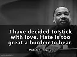Mlk Quotes About Love Mesmerizing Quotes On Love By Martin Luther King Jr The Love Language Of Food