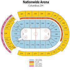 Nationwide Arena Seating Chart Views Reviews Columbus
