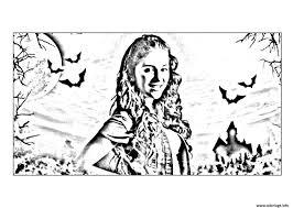Coloriage Chica Vampiro Daisy Devant Son Chateau Dessin Coloriage Magique Chica Vampiro A Imprimer L