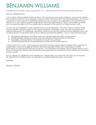 cover letter for staff assistant administrative assistant cover letter examples for admin livecareer